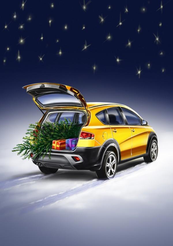 Seat_christmas_neige